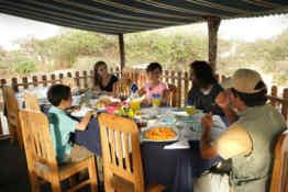 Floreana Lava Lodge • Dining Area