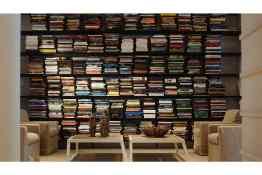 Kimpton Brice Hotel Library