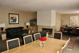 Cartier Place Suite Hotel - Penthouse Living Room