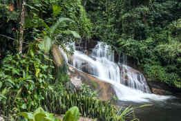 Pedra Branca Waterfall Paraty, Brazil
