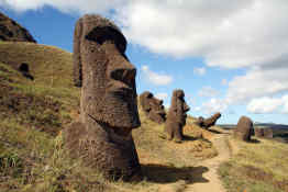 Moais Easter Island