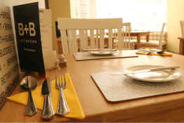 B+B York - Breakfast Room