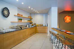 Olympic Hotel • Breakfast Room