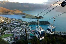 Gondolas • Queenstown, New Zealand