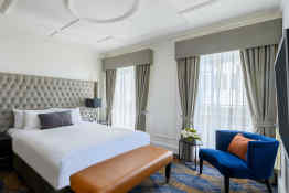 The Savoy Hotel on Little Collins Melbourne • Guest Room