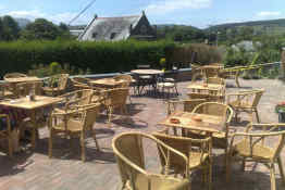 Brecon Castle Hotel • Outdoor Patio