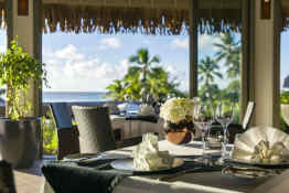 InterContinental Moorea Resort • The Shell Restaurant