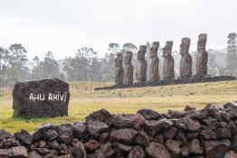 Aku Akivi Easter Island