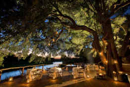 Tinga Lodge • Outdoor Dining