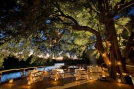 Tinga Lodge • Outdoor Dining