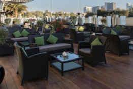 Holiday Inn Abu Dhabi • Terrace