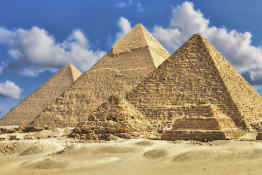 Pyramids of Giza • Cairo, Egypt