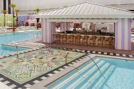 SLS Las Vegas Hotel & Casino - Foxtail Pool