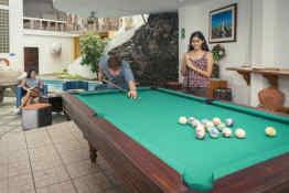 Grand Hotel Lobo De Mar Santa Cruz Island • Pool Table