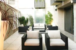 Neya Lisboa Hotel • Courtyard