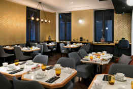 Hotel Square Louvois Paris • Breakfast Room
