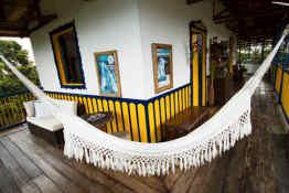 Hotel Hacienda Combia • Porch