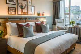Kimpton Charlotte Square • Deluxe Guestroom
