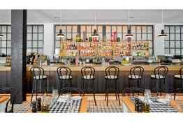 Kimpton Brice Hotel Pacci Bar