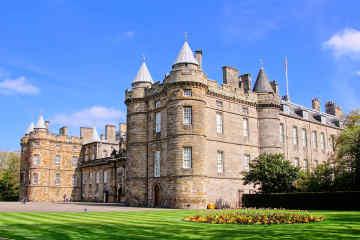 Holyrood Palace in Edinburgh, Scotland
