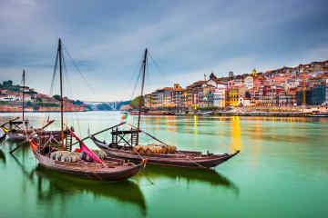 Porto Douro River Boats