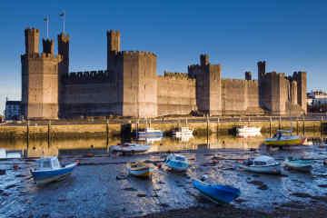 Caernarfon Castle • Anglesey, Wales