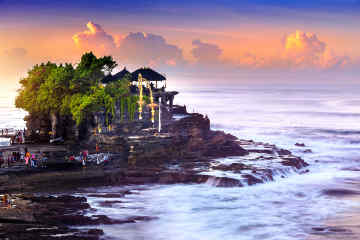Tanah Lot at Sunset, Bali