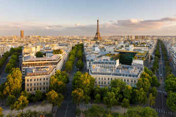 Aerial View of the City • Paris, France