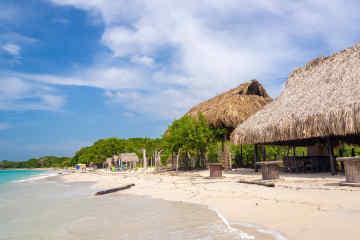 Beach near Cartagena