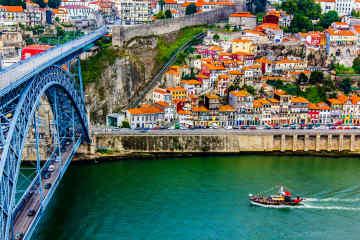 Dom Luis Bridge • Porto, Portugal