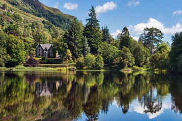 Trossachs National Park Scotland