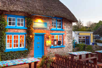 Traditional Cottage in Adare, Ireland