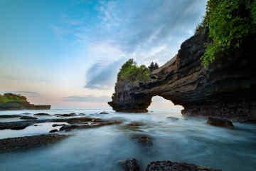 Batu Bolong Beach in Canggu, Bali
