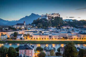 Hohensalzburh Fortress Salzburg Austria