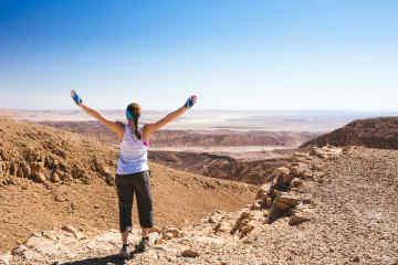 Hiking in Israel