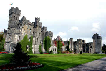 Ashford Castle in County Mayo, Ireland