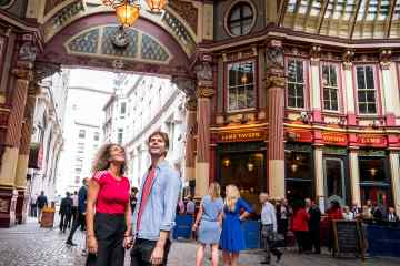 Leadenhall Market • London, England