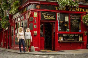 The Temple Bar in Dublin