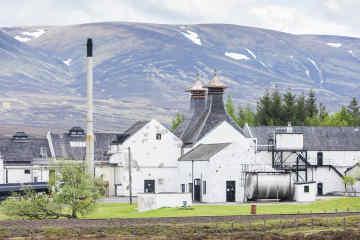 Dalwhinni Distillery