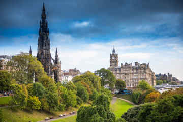 Edinburgh, Scotland skyline