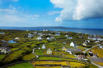 Aran Islands in Galway Ireland