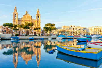 Valletta fishing boats