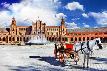 Plaza de España, Spain