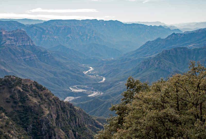 Urique Canyon in Mexico