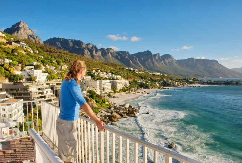 Twelve Apostles of Table Mountain in Cape Town