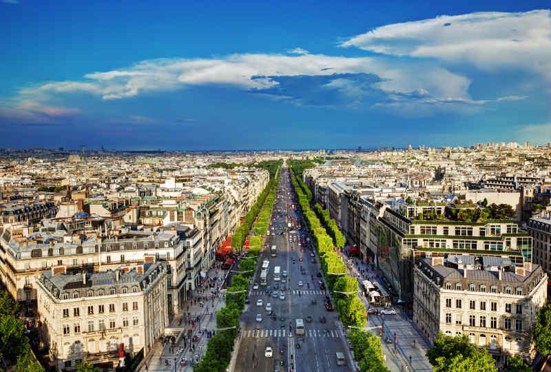 Champs-Élysées • Paris, France