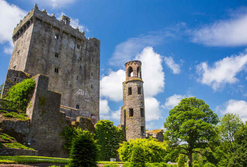 Blarney Castle in County Cork