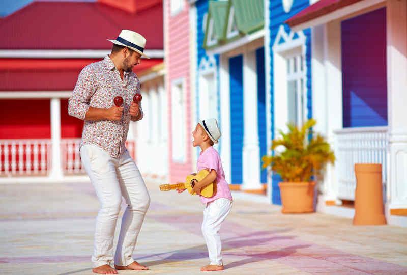 Music and dancing in Panama City, Panama