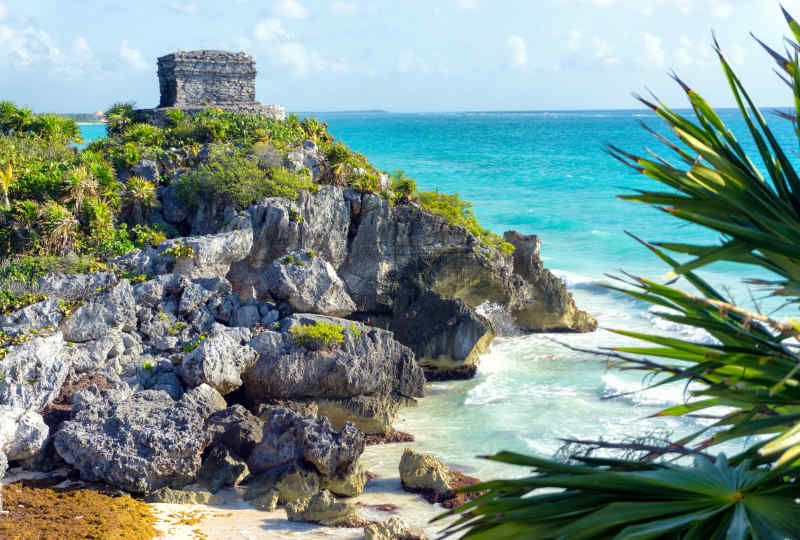 Tulum Wind Temple in Mexico