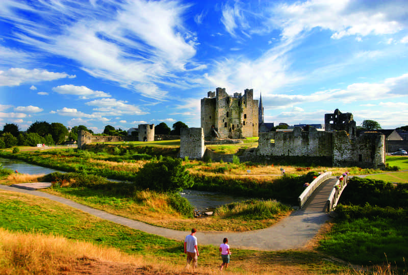 Trim Castle in County Meath, Ireland